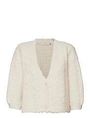 DoaGZ ss cardigan MS21 - OFF WHITE