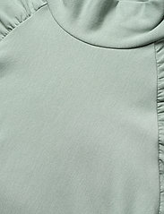 Gestuz - RifaGZ ss turtleneck - kortærmede bluser - slate gray - 6