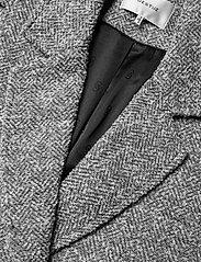 Gestuz - LucilaGZ coat MS21 - wollen jassen - herringbone dusty green - 3