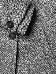 Gestuz - LucilaGZ coat MS21 - wollen jassen - herringbone dusty green - 4