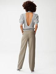 Gestuz - LeejaGZ HW pants MS21 - bukser med lige ben - brindle - 3