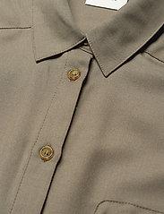 Gestuz - LeejaGZ sl shirt MS21 - kortærmede skjorter - brindle - 4