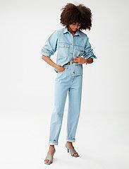 Gestuz - DacyGZ shirt - tøj - light blue vintage - 3