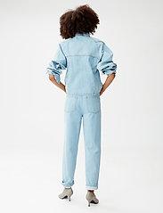 Gestuz - DacyGZ shirt - tøj - light blue vintage - 4