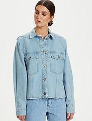 Gestuz - DacyGZ shirt - tøj - light blue vintage - 5