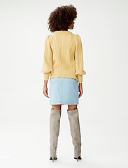 Gestuz - DacyGZ HW skirt - jeanskjolar - light blue vintage - 3