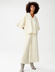 Gestuz - TalliGZ pullover - trøjer - egret - 0