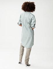 Gestuz - JilanGZ shirt dress MS21 - hverdagskjoler - slate gray - 3