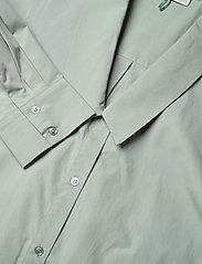 Gestuz - JilanGZ shirt dress MS21 - hverdagskjoler - slate gray - 4