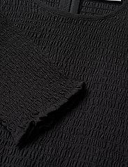 Gestuz - MazziGZ ls blouse MS21 - langærmede bluser - black - 6
