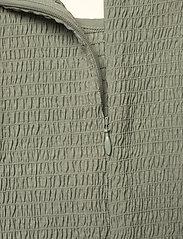 Gestuz - MazziGZ ls blouse MS21 - langærmede bluser - slate gray - 4