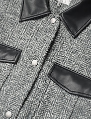 Gestuz - LucilaGZ waistcoat - puffer vests - herringbone dusty green - 3