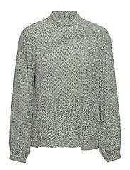 MoaGZ blouse - GREEN LOGO