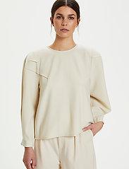 Gestuz - KlaraGZ blouse MS21 - langærmede bluser - moonbeam - 5
