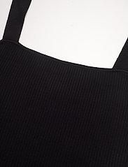 Gestuz - RagnaGZ duo cardigan MS21 - cardigans - black - 8