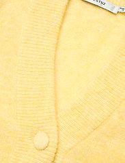 Gestuz - DebbieGZ puff cardigan - cardigans - dried moss melange - 3