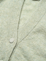 Gestuz - DebbieGZ puff cardigan - cardigans - sky gray melange - 3