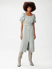 Gestuz - BellioGZ dress - sommerkjoler - slate gray - 0
