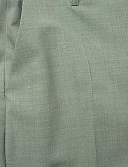 Gestuz - AmaliGZ HW wide pants - bukser med brede ben - slate gray - 3