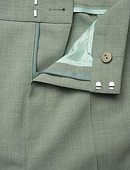 Gestuz - AmaliGZ HW wide pants - bukser med brede ben - slate gray - 4