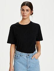 Gestuz - RoxieGZ ss tee NOOS - t-shirts - black - 0