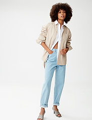 Gestuz - MeluaGZ OZ shirt - langærmede skjorter - pure cashmere - 0