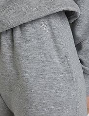 Gestuz - ChrisdaGZ MEL sweatpants - sweatpants - light grey melange - 5