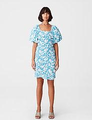 Gestuz - MynteGZ short dress - sommerkjoler - blue flower - 0