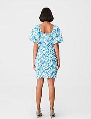 Gestuz - MynteGZ short dress - sommerkjoler - blue flower - 3