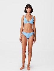 Gestuz - MyoGZ bikini top - bikini overdele - blue stripes - 0