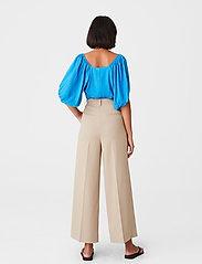 Gestuz - BegoniaGZ blouse - kortærmede bluser - french blue - 3