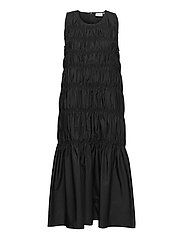 LenaGZ long dress - BLACK