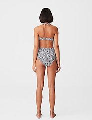 Gestuz - SuiGZ bikini top - bikini overdele - grey wave - 3
