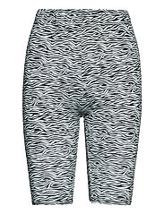 PiloGZ MW printed short tights - GREY WAVE