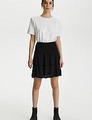 Gestuz - LifGZ skirt - midi nederdele - black - 3