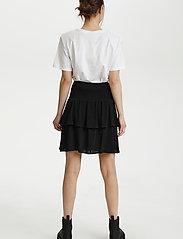 Gestuz - LifGZ skirt - midi nederdele - black - 4