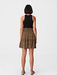 Gestuz - LifGZ skirt - midi nederdele - brown mini leo - 3