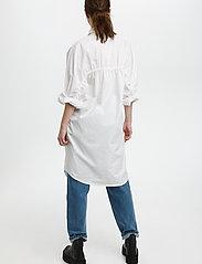 Gestuz - HalioGZ OZ shirt dress - hverdagskjoler - bright white - 4