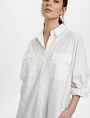 Gestuz - HalioGZ OZ shirt dress - hverdagskjoler - bright white - 6