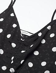 Gestuz - FjolaGZ singlet - Ærmeløse bluser - black w/grey dot - 4