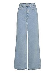 ElmaGZ HW wide pants - LIGHT BLUE