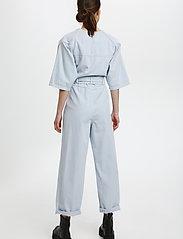Gestuz - KataGZ jumpsuit HS21 - tøj - xenon blue - 3