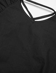 Gestuz - SvalaGZ top - kortærmede bluser - black - 6
