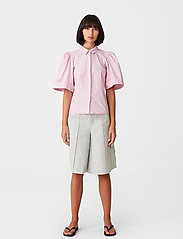 Gestuz - HalioGZ ss shirt - denimskjorter - fragrant lilac - 3
