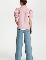 Gestuz - HalioGZ ss shirt - denimskjorter - fragrant lilac - 4