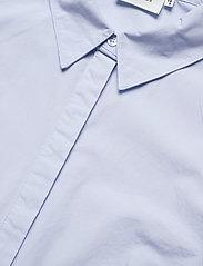 Gestuz - HalioGZ ss shirt - denimskjorter - xenon blue - 6