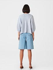 Gestuz - SoleyGZ cardigan - cardigans - xenon blue - 3