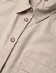 Gestuz - LeejaGZ sl shirt dress - sommerkjoler - pure cashmere - 4