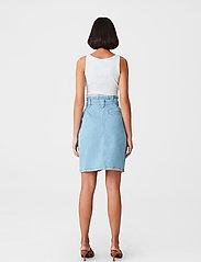 Gestuz - ElmaGZ HW skirt - midi nederdele - light blue - 3