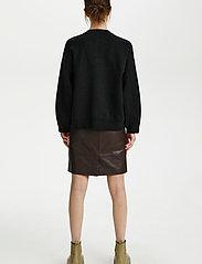 Gestuz - TalliGZ box cardigan - cardigans - black - 4